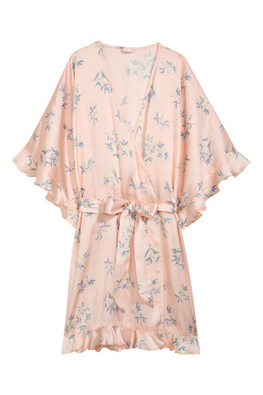 Patterned kimono - Light pink/Patterned -  | H&M