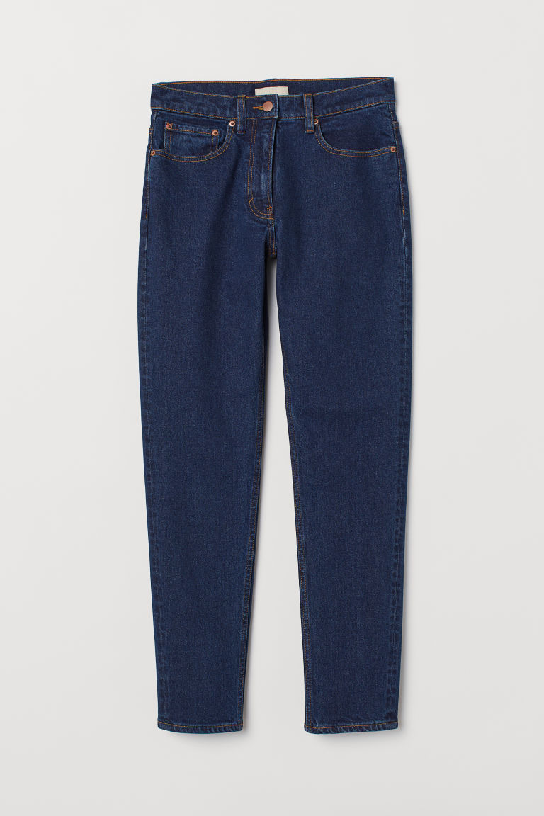 Slim Ankle Jeans - Dunkelblau - Ladies | H&M AT