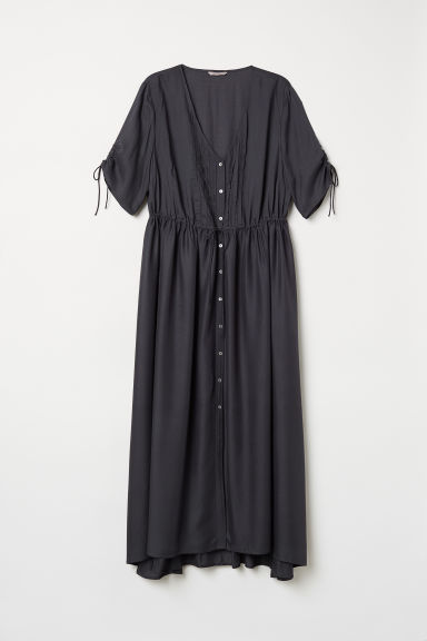 H&M+ Modal maxi dress - Dark grey - Ladies | H&M
