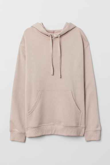 Hooded top - Light powder pink - Ladies | H&M