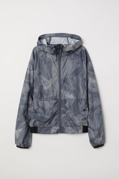 Outdoor Jacket - Gray/patterned - Ladies | H&M US
