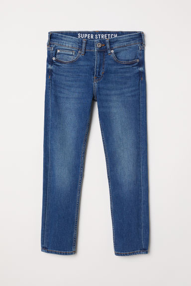 Skinny Fit Generous Size Jeans - Denim blue - Kids | H&M CN