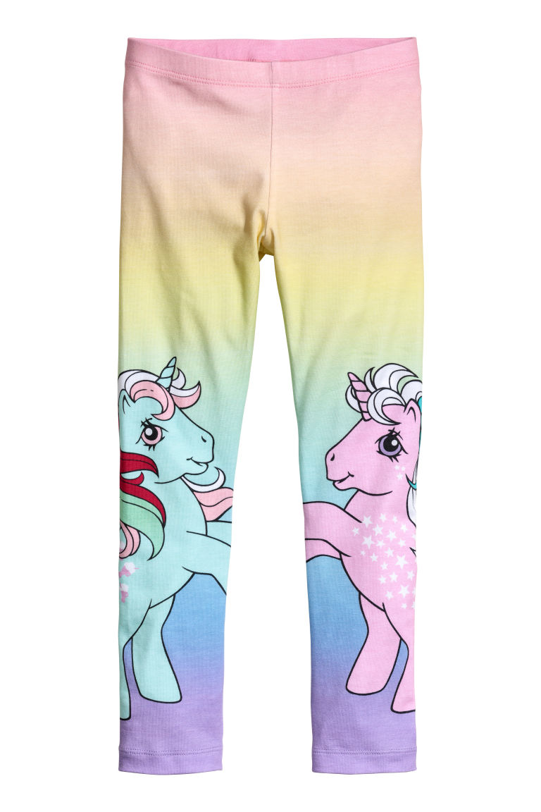Leggings in jersey - Rosa/My Little Pony - BAMBINO | H&M IT