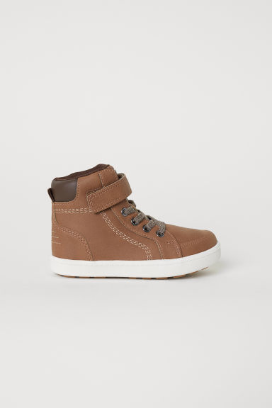 Hi-top trainers - Brown -  | H&M