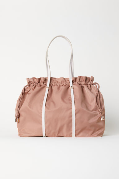 Nylon handbag - Light brown - Ladies | H&M