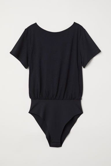 Knot-detail body - Black - Ladies | H&M