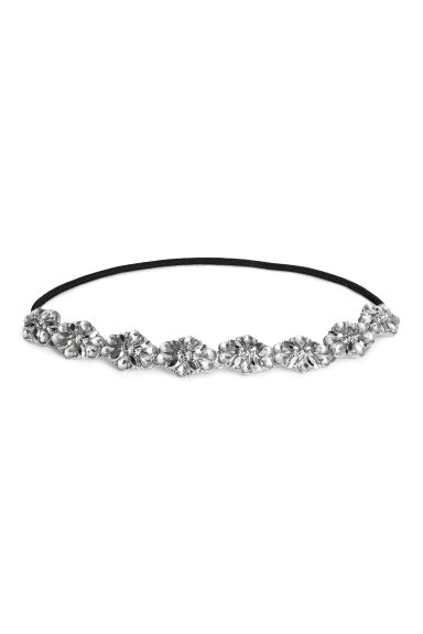 Hairband - Silver-coloured -  | H&M CN