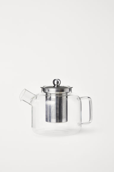 Glass Teapot - Clear glass - Home All | H&M US
