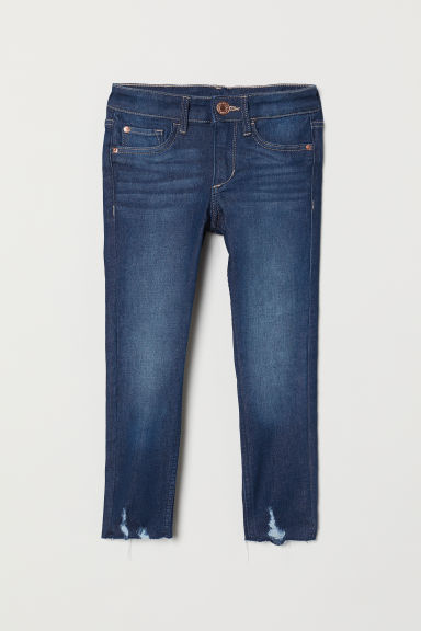 Superstretch Skinny Fit Jeans - 深丹寧藍 - Kids | H&M