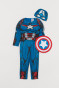 Blu scuro/Captain America