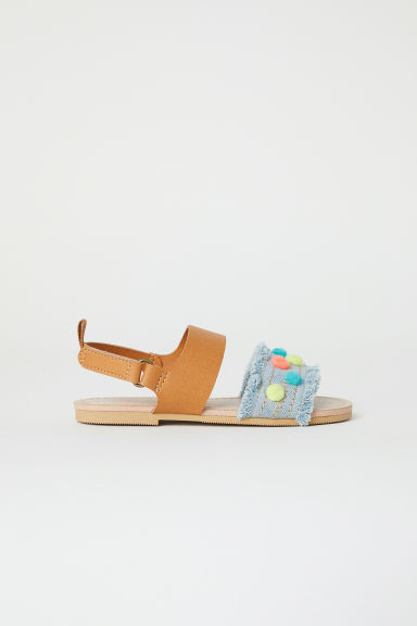 Sandals - Light denim blue -  | H&M