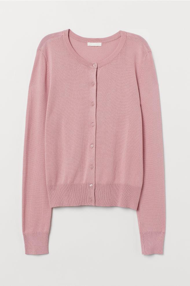 Cardigan in maglia fine - Rosa - DONNA | H&M IT 5