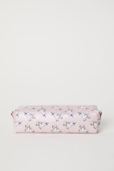 Pencil Case - Powder pink/Unicorns -  | H&M