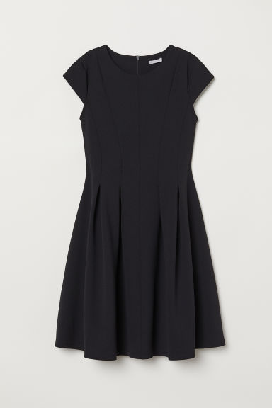 Knee-length dress - Black - Ladies | H&M