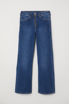 Kickflare High Ankle JeansModello