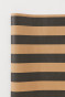 Black/beige striped