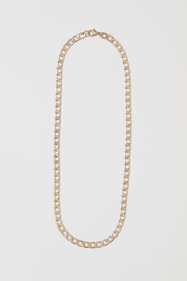 Metal Necklace - Gold-colored - Men | H&M US