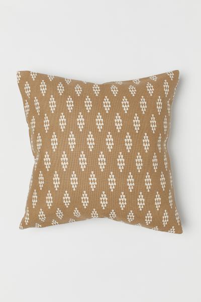 H&M - Canvas cushion cover - 1
