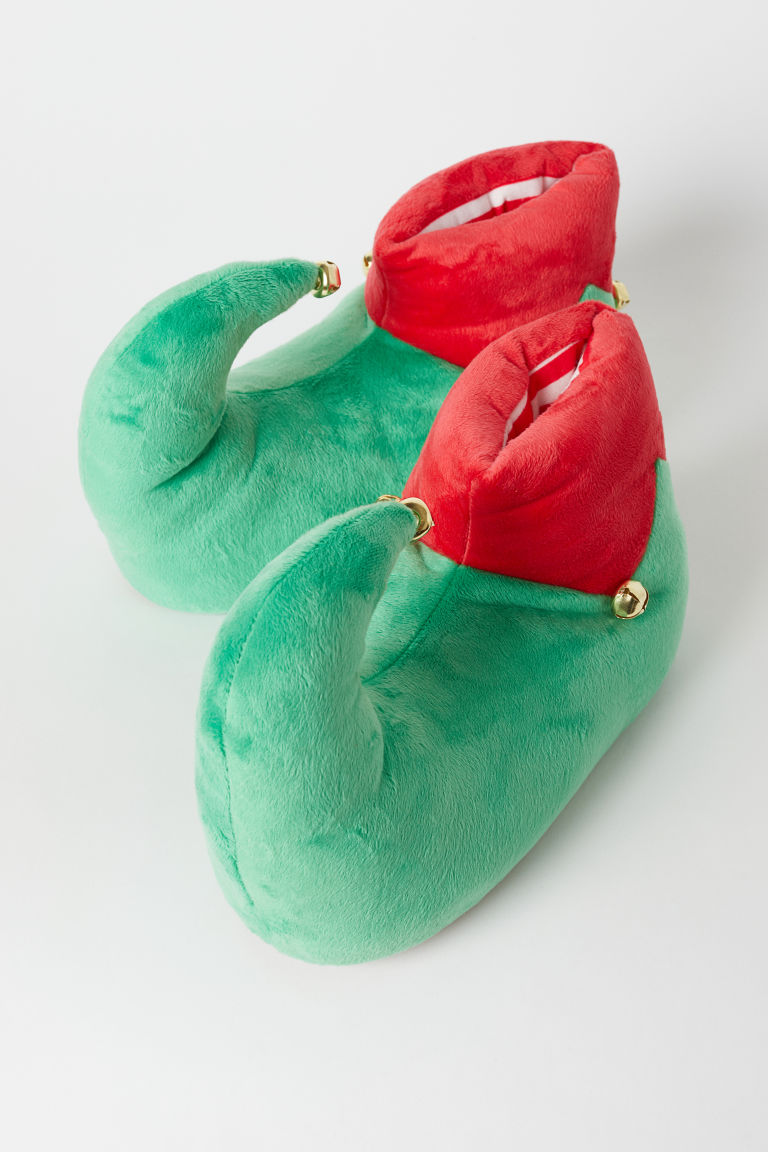 Slippers with bells - Green/Red - Men | H&M CN