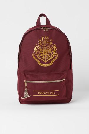 H&M 키즈 해리포터 백팩 Printed Backpack,Dark red