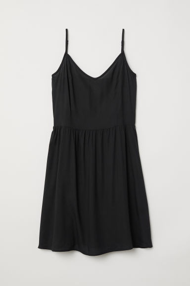 Short dress - Black -  | H&M