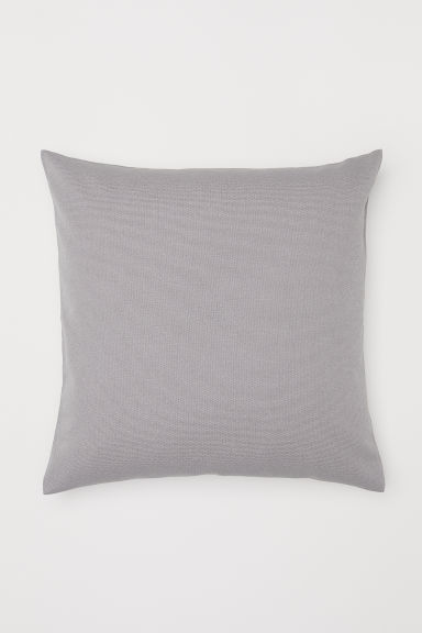 Cotton canvas cushion cover - Light mole - Home All | H&M GB