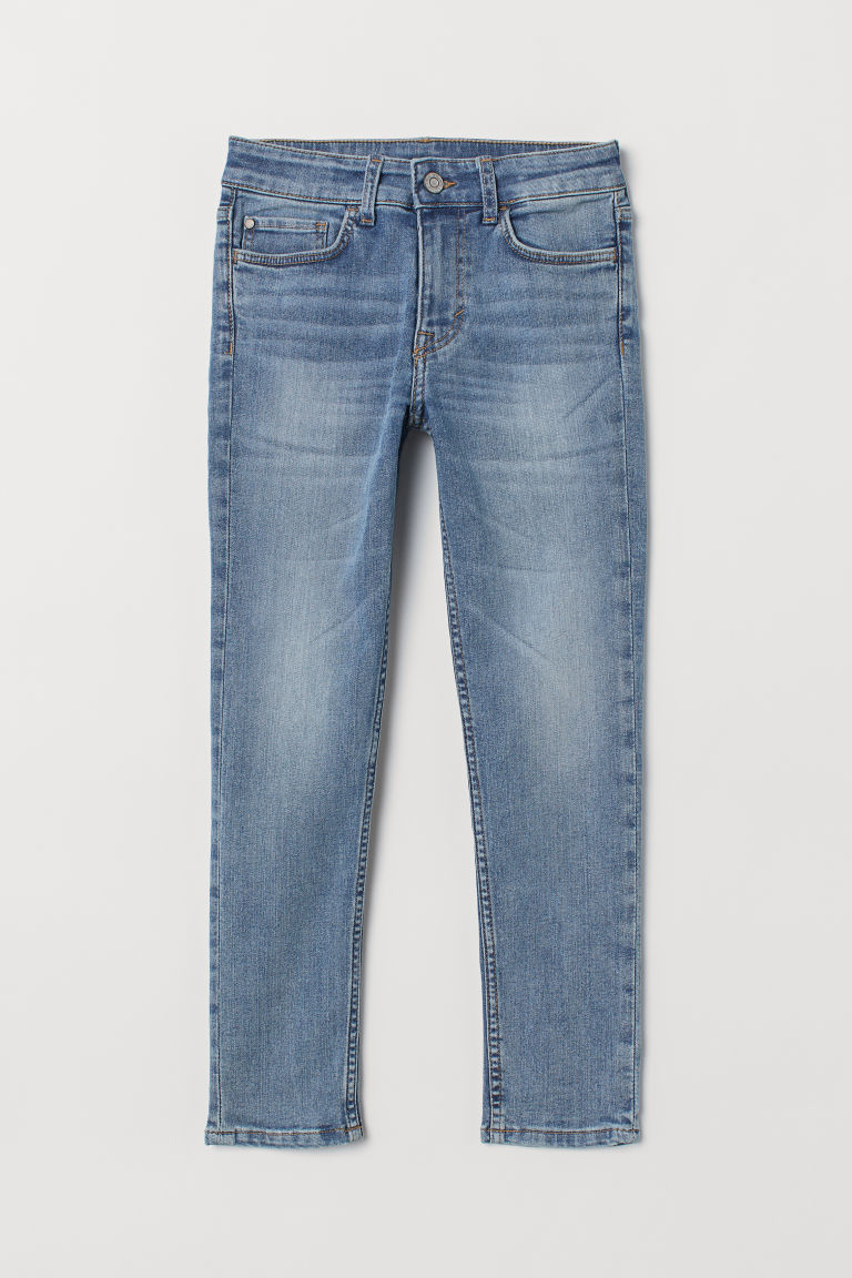 Skinny Fit Jeans - Lys denimblå - BARN | H&M NO