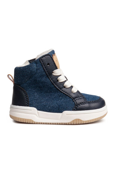 Warm-lined hi-tops - Denim blue - Kids | H&M CN