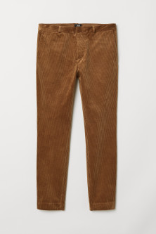Corduroy trousers Skinny Fit