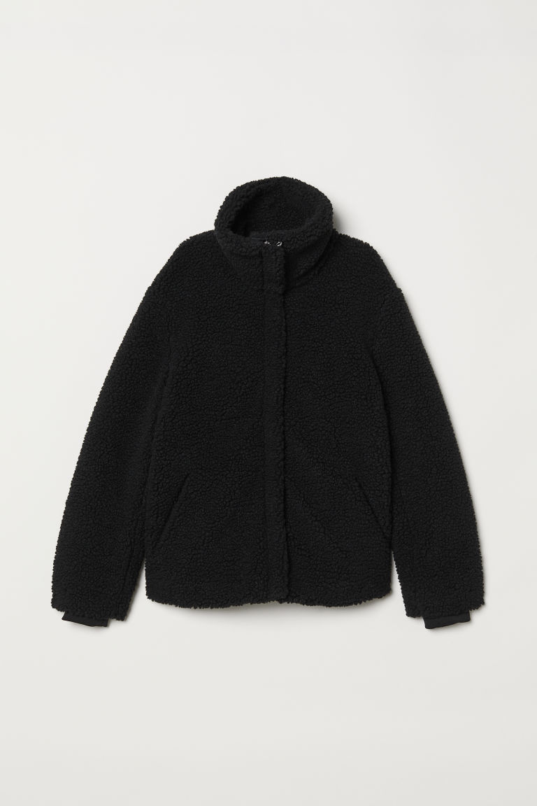 Pile jacket - Black - Ladies | H&M