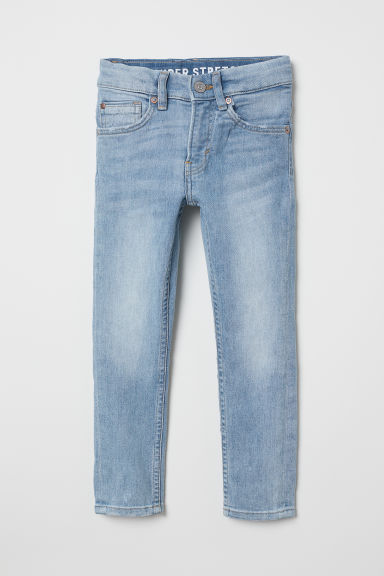 Superstretch Skinny Fit Jeans - Bleu denim clair - ENFANT | H&M CH