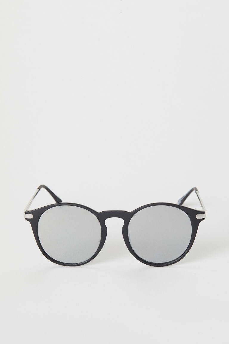 Sunglasses - Black/Silver-coloured - Ladies | H&M
