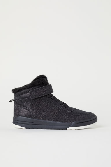 Hi-tops - Black/Glittery - Kids | H&M