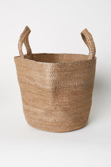 Jute beach bag - Natural - Home All | H&M CN