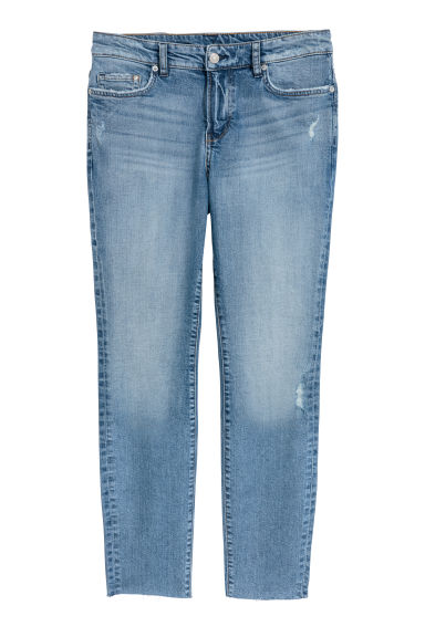 H&M+ Slim Regular Ankle Jeans - Denimblauw -  | H&M NL