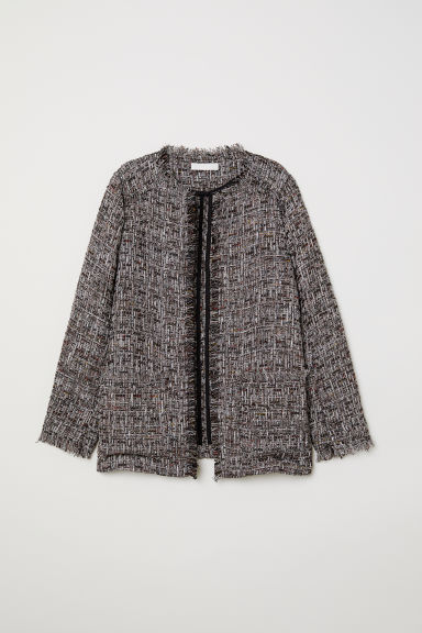 Shimmering jacket - Black -  | H&M