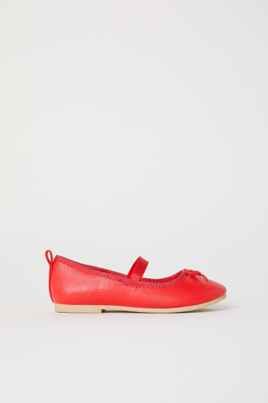 Ballet pumps - Red -  | H&M CN