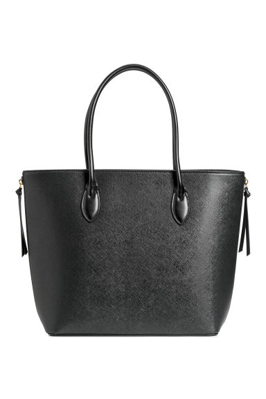 Shopper with zips - Black - Ladies | H&M
