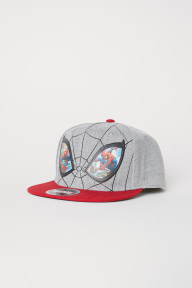 Cap with a motif - Grey/Spider-Man -  | H&M