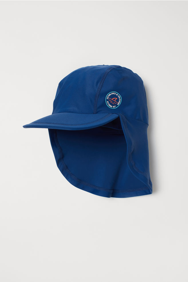 7ef67be8 Sun cap with UPF 50 - Dark blue - Kids | H&M 1