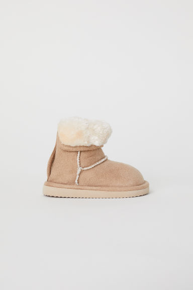 Warm-lined boots - Beige - Kids | H&M CN
