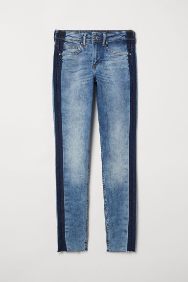 Super Skinny Regular Jeans - Denim blue - Ladies | H&M GB