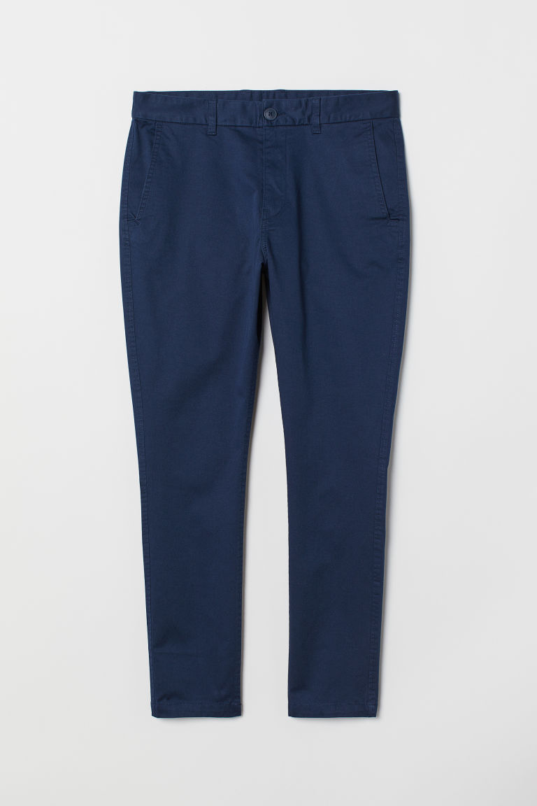 Chino Tapered Fit - Dunkelblau - Men | H&M AT