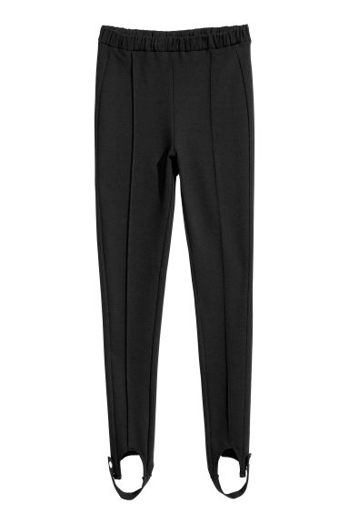 Stirrup leggings - Black - Ladies | H&M