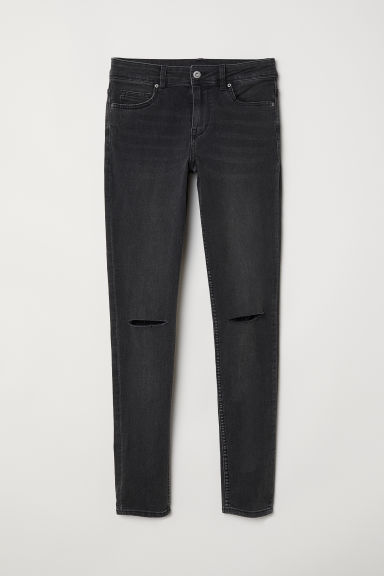 Super Skinny Regular Jeans - Dark grey - Ladies | H&M
