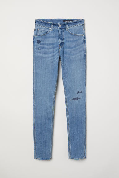 Tech Stretch Skinny Jeans - Light denim blue - Men | H&M