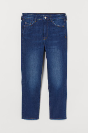 Jeans Skinny High Cropped