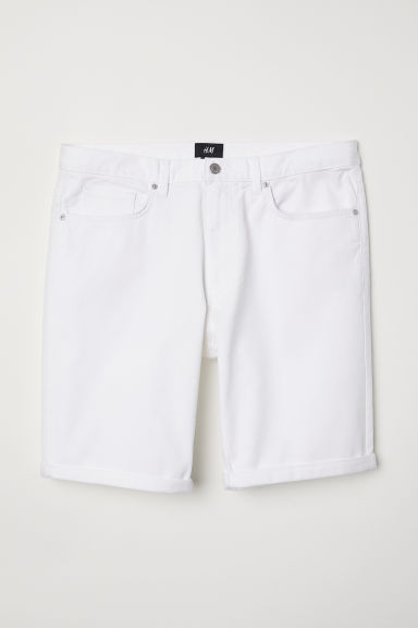 Short van keper - Wit - HEREN | H&M BE