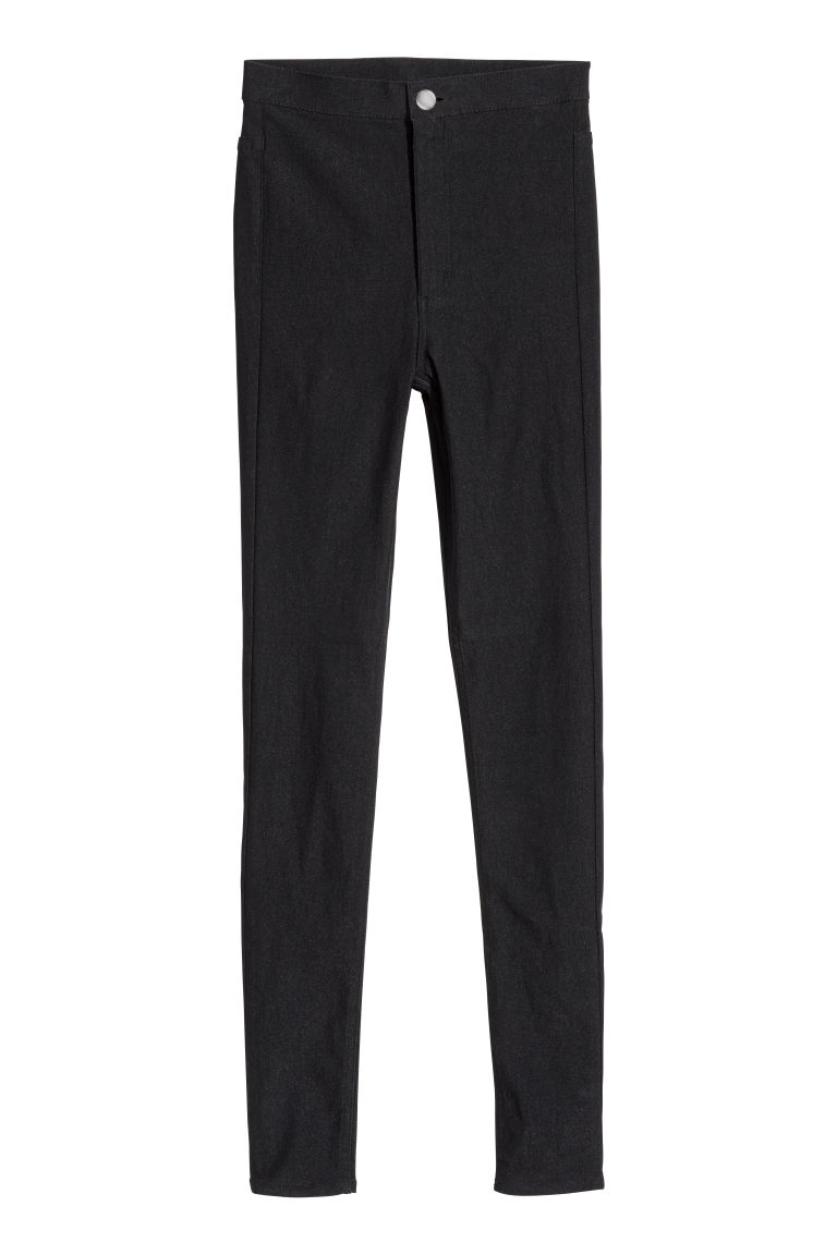 Stretch trousers - Black - Ladies | H&M