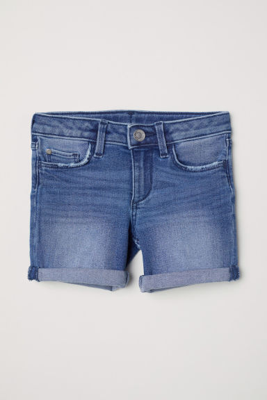 Denim shorts - Denim blue -  | H&M CN